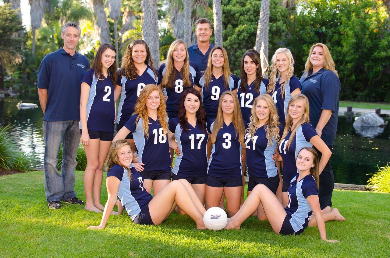 Varsity Volleyball 2011