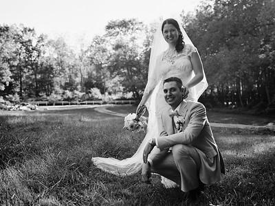 Lindsay & Adam's Wedding - Black & White Medium Format Film