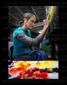 """""""ARTIST AT WORK"""""""