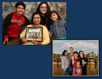 Sony with son Devilen, daughters Samantha & Jaynessa