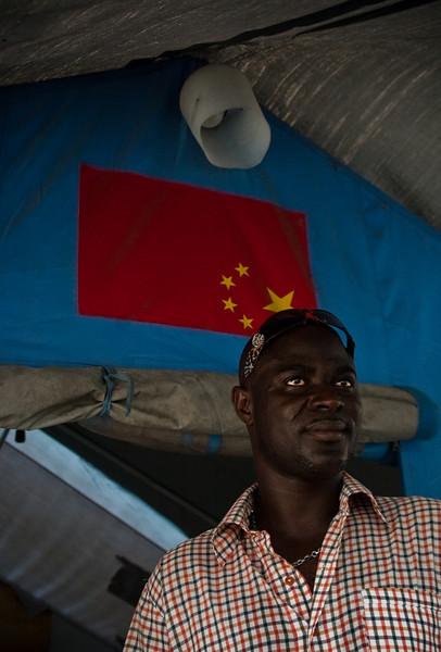 Haitian Mafia / Politician, Port-au-prince, Haiti, June 2011.