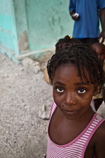 Orphan, in the slums of Cité Soleil, Haiti, June 2011.