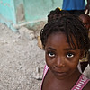 Orphan, in the slums of Cité Soleil, Haiti, June 2011.