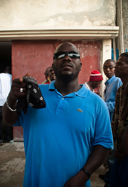 Haitian Mafia, Port-au-prince, Haiti, June 2011.