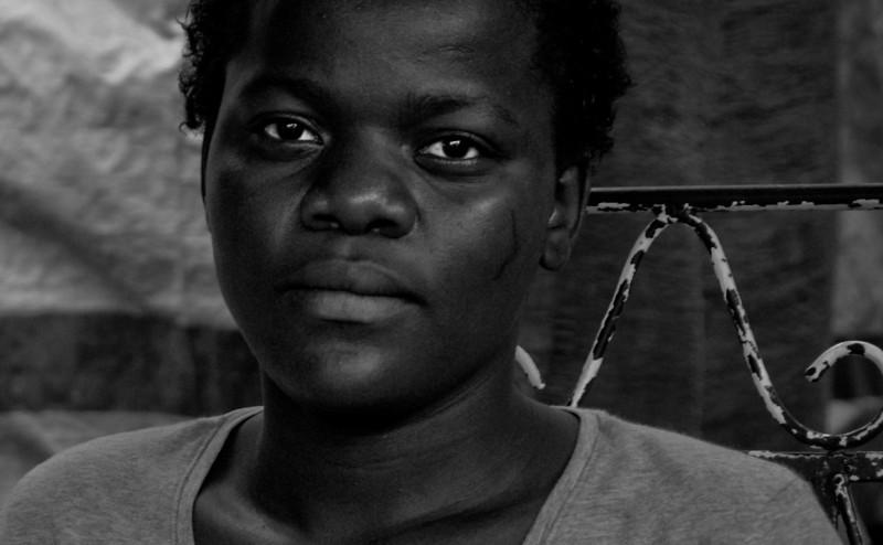 Life at the camps, Port-au-Prince, Haiti, June 2009.