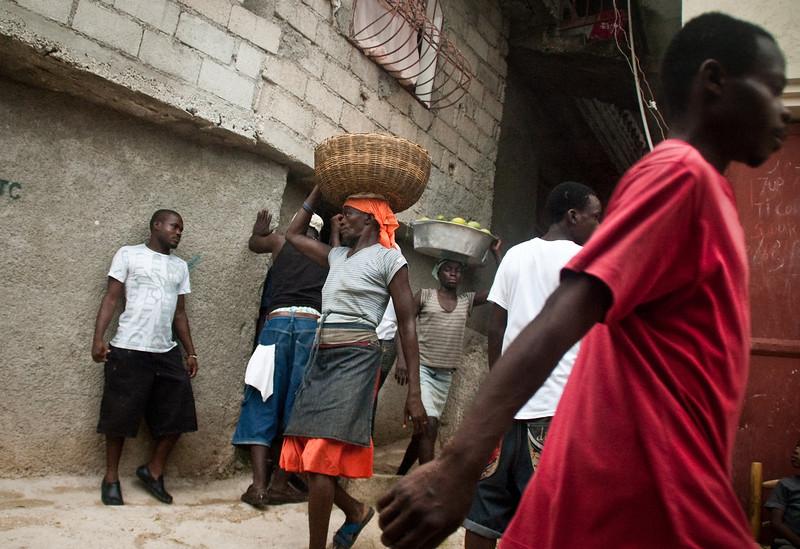Port-au-Prince, Haiti, 2011.