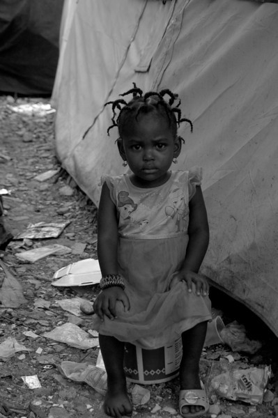 Life at the camps, Port-au-Prince, Haiti, June 2011.