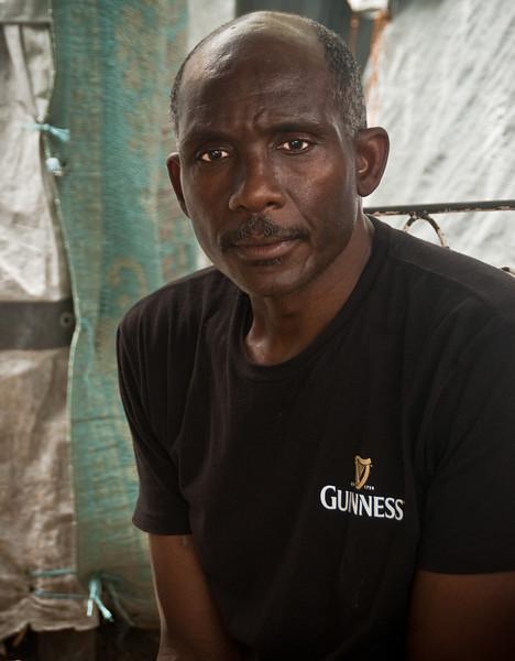 Politician, Port-Au-Prince, Haiti, June 2011.