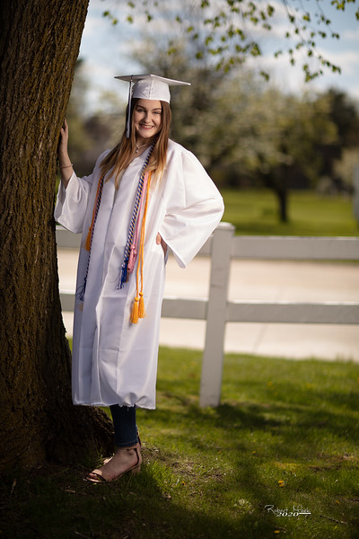 Haley Cap and Gown-6