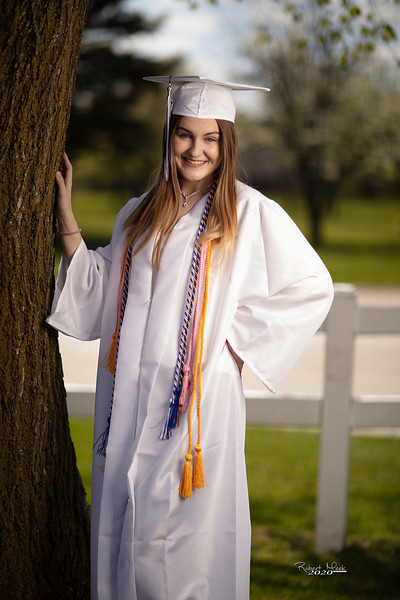 Haley Cap and Gown-3