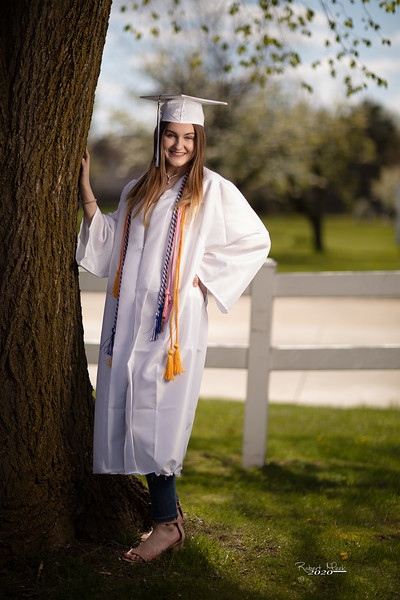 Haley Cap and Gown-5