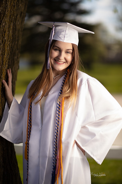 Haley Cap and Gown-1