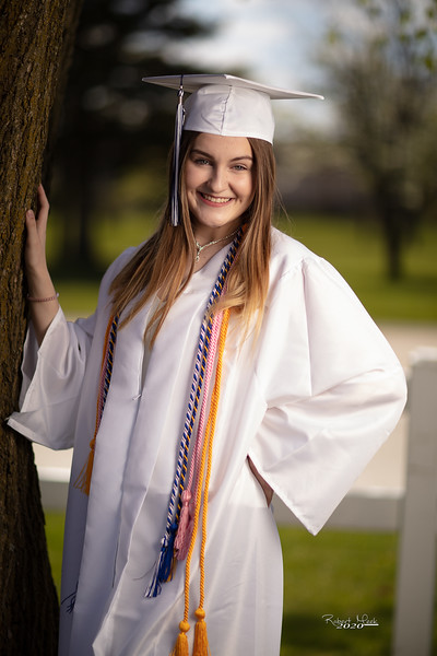Haley Cap and Gown-2