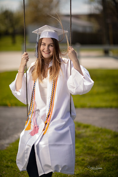 Haley Cap and Gown-33