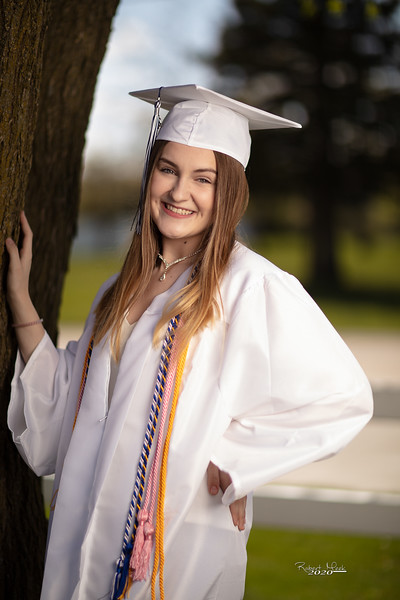 Haley Cap and Gown-8