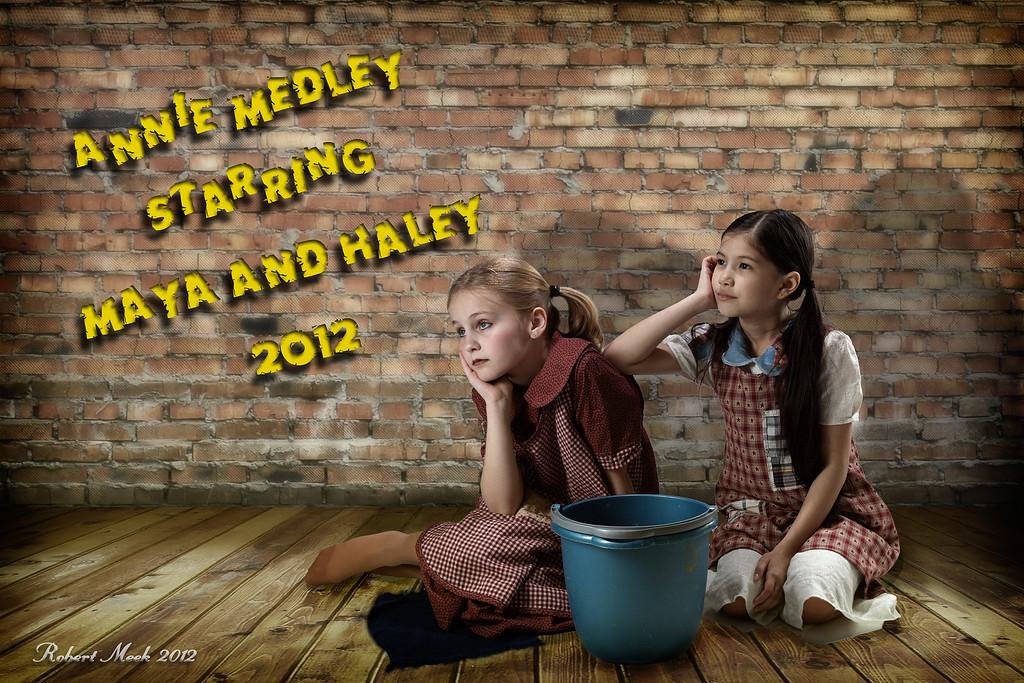 Maya and Haley