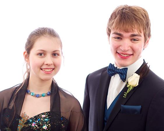 Hannah and Austin's Jr. Prom