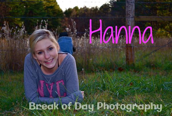 Hanna's Senior