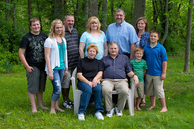 Harris Family Portrait - 005