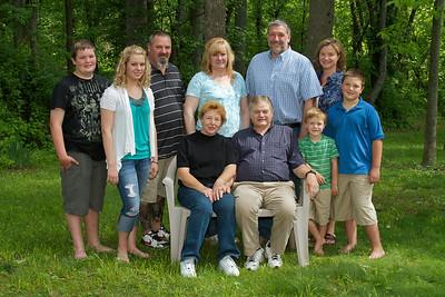 Harris Family Portrait - 002