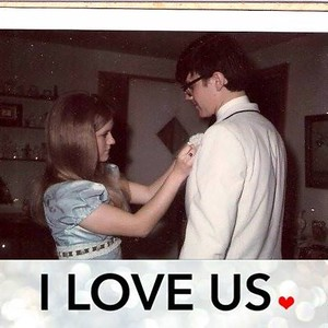 Mom and Dad at Prom c  1970