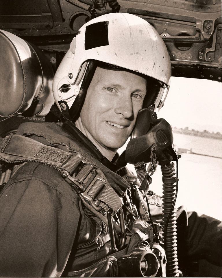 John in his Navy days.  1975-1996