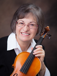 Musician Portrait with Violin