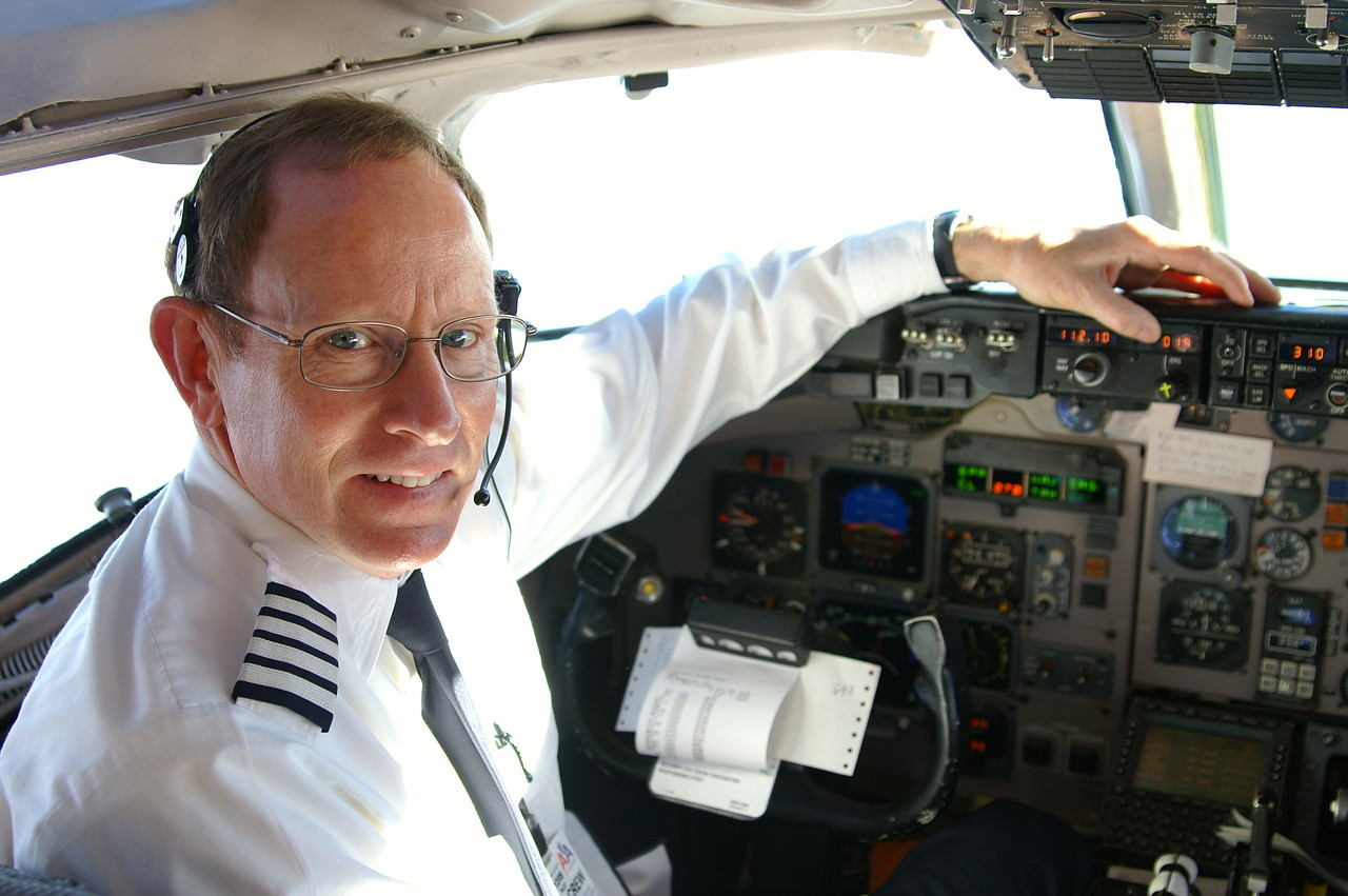 John's current gig as a Captain for American Airlines.