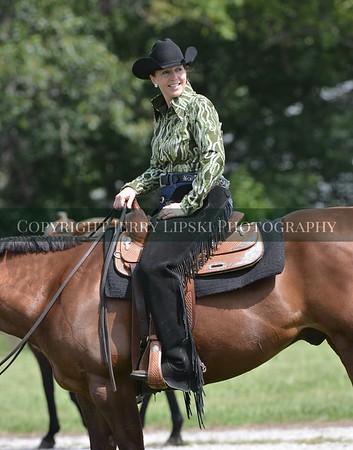 Marnie Davis and Horse