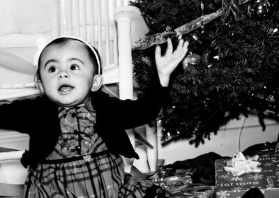 Miss Jayla's Christmas Photos