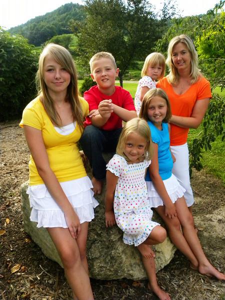 Hooker Family Portraits