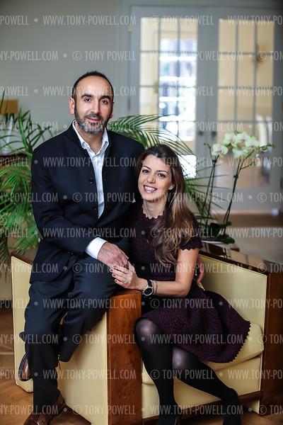 Photo © Tony Powell. Hossein & Dalia Fateh. November 9, 2012
