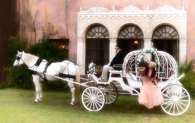 Model Jessica Kelly Howey Mansion Horse and Carriage by Equine Villa Athena, the horse