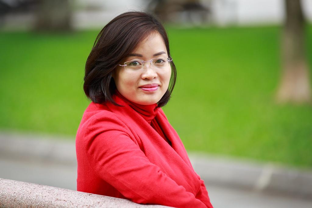 Dương Thị Loan - Chuyên viên Hợp tác quốc tế