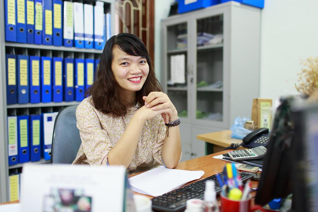 Phạm Minh Thu - nhân viên kế toán