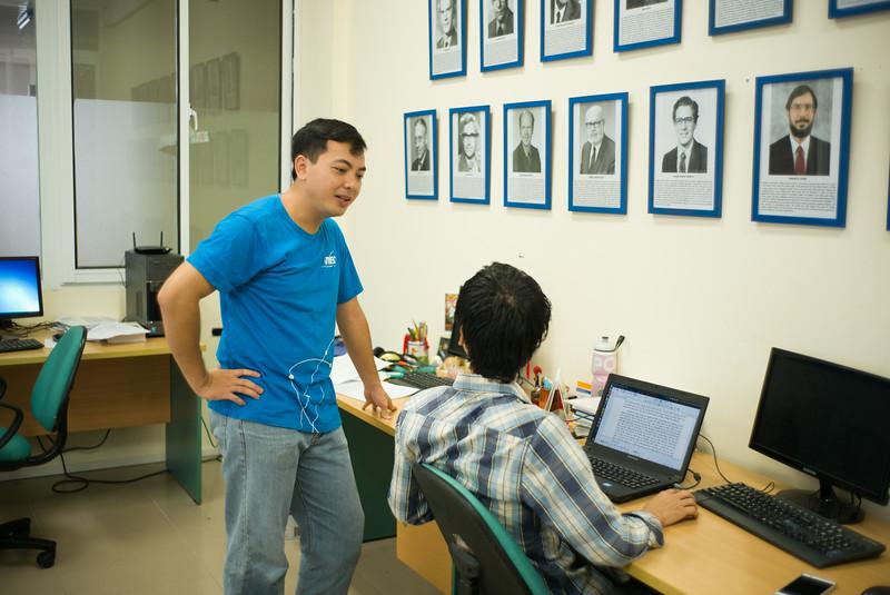 Phạm Ngọc Diệp, nghiên cứu viên