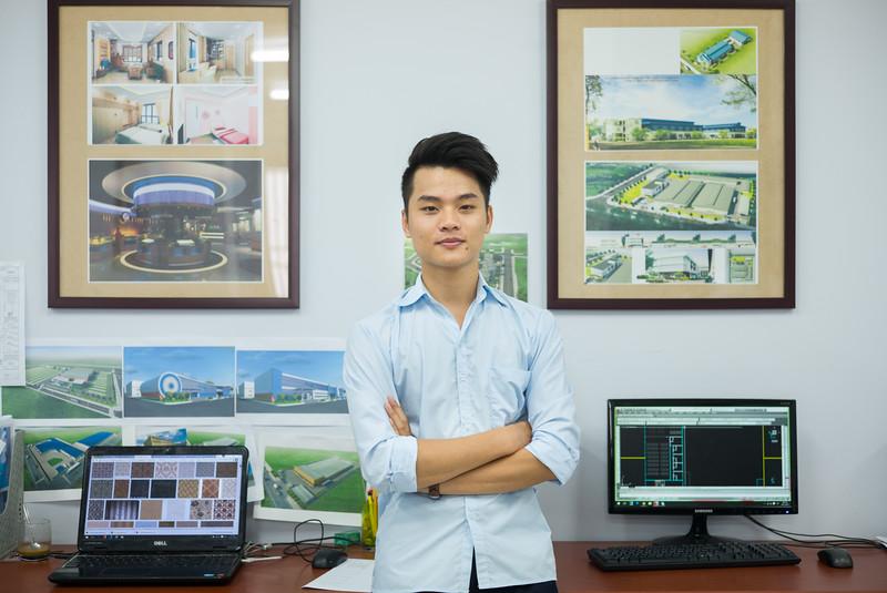 Trần Văn Tân - Kiến trúc sư