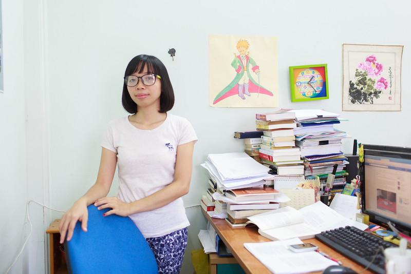 Hoàng Thị Nhụy - biên tập viên