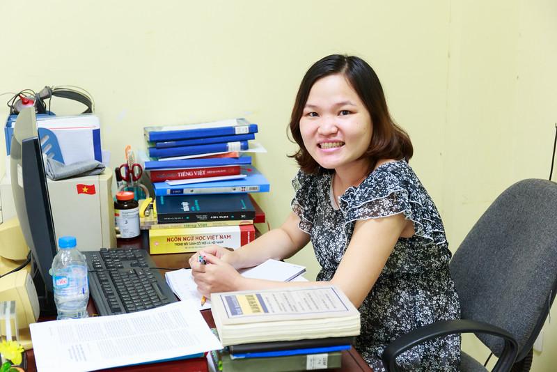 Đàm Thị Thuý, cán bộ nghiên cứu