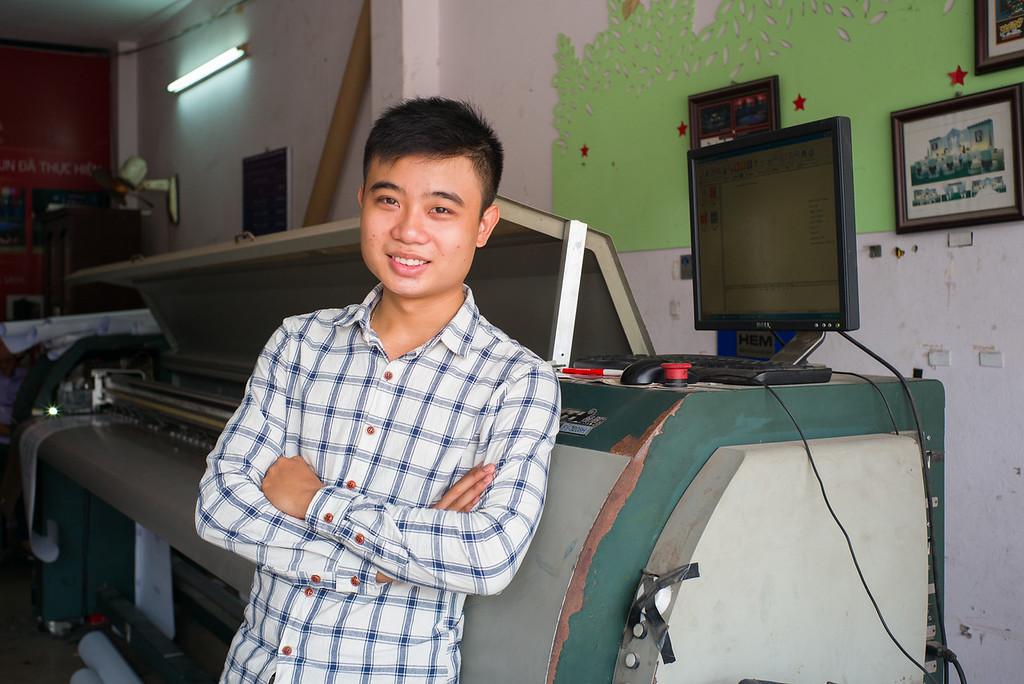 Nguyễn Ngọc Hiếu - Nhân viên thiết kế