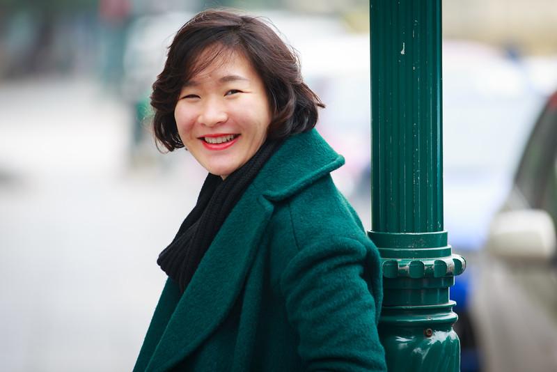 Ngô Thị Thùy Dung - Phó trưởng phòng Hợp tác quốc tế