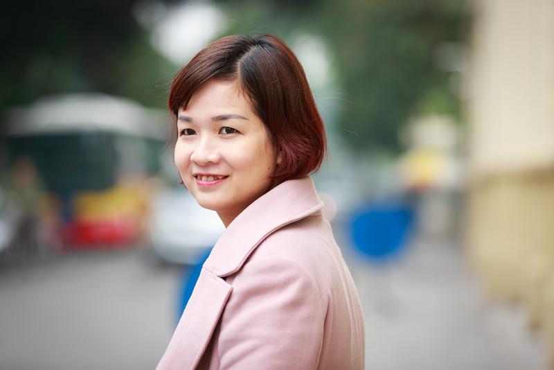 Phạm Thanh Nga - cán bộ phòng thanh tra