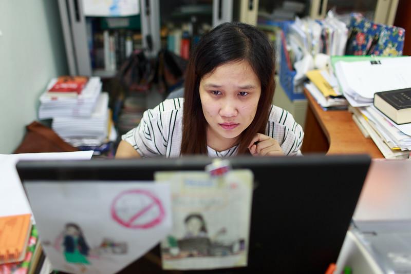Nguyễn Thu Yến - nhân viên khai thác bản quyền
