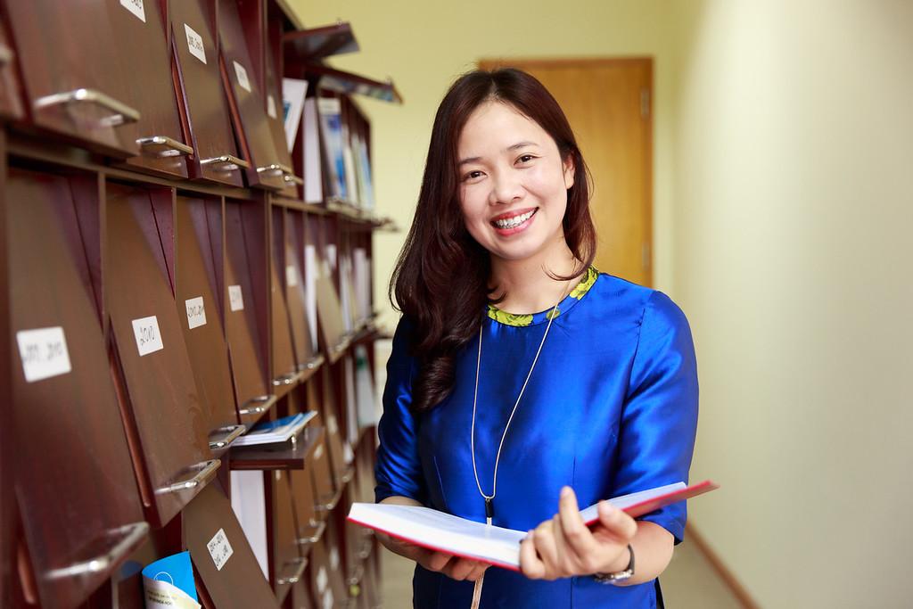 Ngô Thị Thu Bình, 36 tuổi, biên tập viên