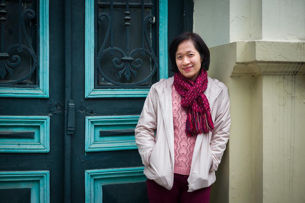 Nguyễn Thị Hồng Cúc - Chuyên viên Thông tin đối ngoại