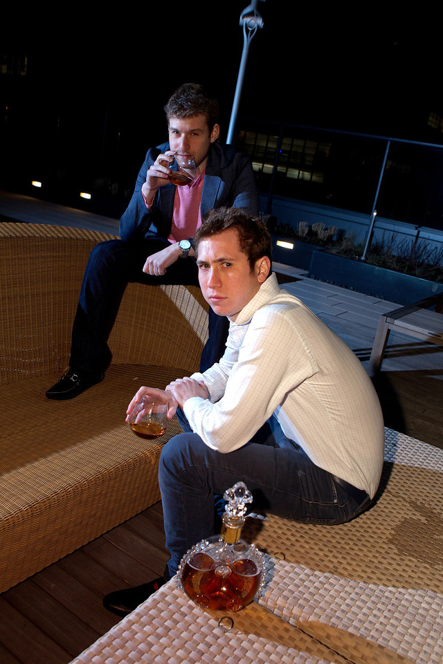 Ian and Alex (Photo by Steve Mack/S.D. Mack Pictures for Rothschild PR)