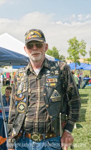A Vietnam veteran and a member of the Patriots