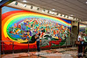 A mural at the Denver Airport; best viewed in the largest sizes