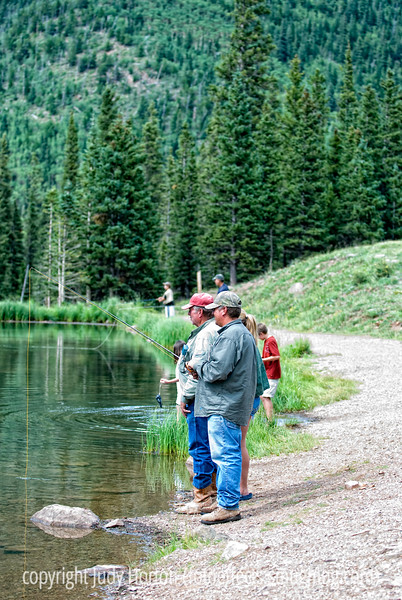 Fishin' at Blue Lake in Colorado