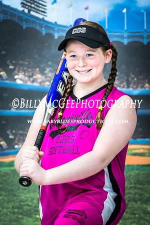 Catonsville Girls Softball - 25 Apr 2015